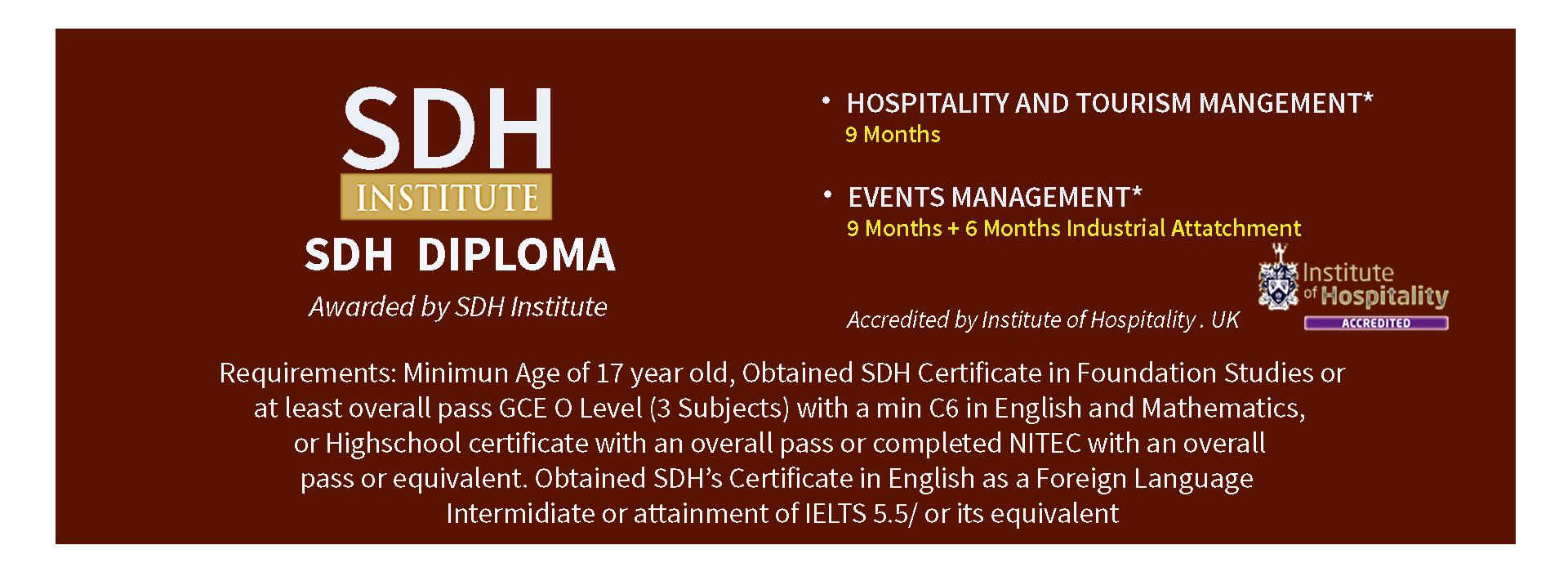 sdh-diploma