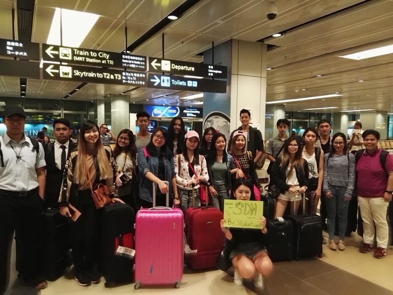 Temasek International College (TIC) student exchange Oct 2016