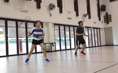SDH Badminton and Basketball Sports Day 20th Jan 2017