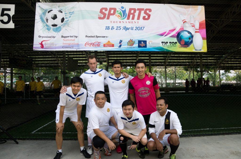 SDH Institute wins Bronze Medal in RAS Futsal Tournament 2017