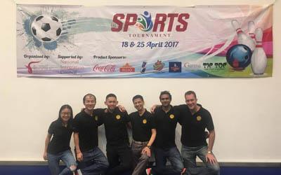 SDH took part in RAS inaugural bowling tournament