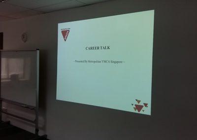 YMCA Career Talk – 19 July 2017
