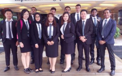 VATEL MBA Field Trip to Singapore Yacht Club – 05 Sept 2017