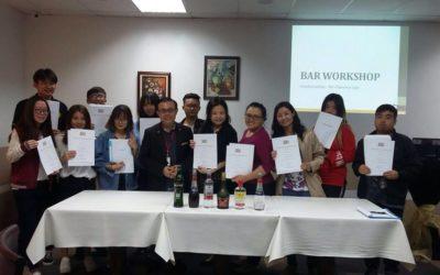 SDH's Bar Mixology Workshop