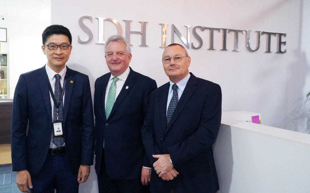 Institute of Hospitality Chief Executive visits SDH campus