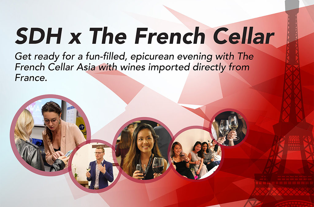 SDH x The French Cellar: Complimentary Wine Appreciation Workshop