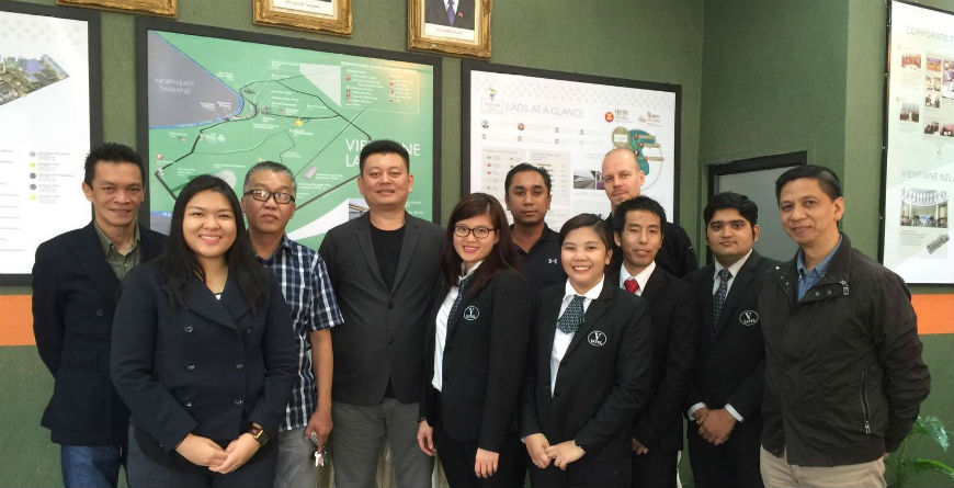 VATEL Master's Degree students Hospitality Trip to Vientiane, Lao