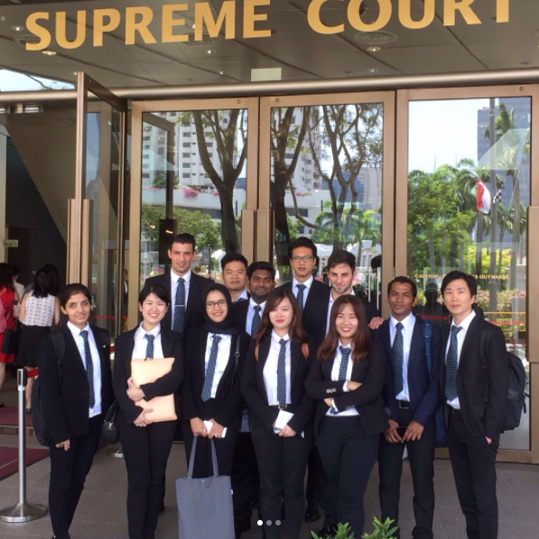 Exploring the Supreme Court with VATEL students – 16 Sept 2017