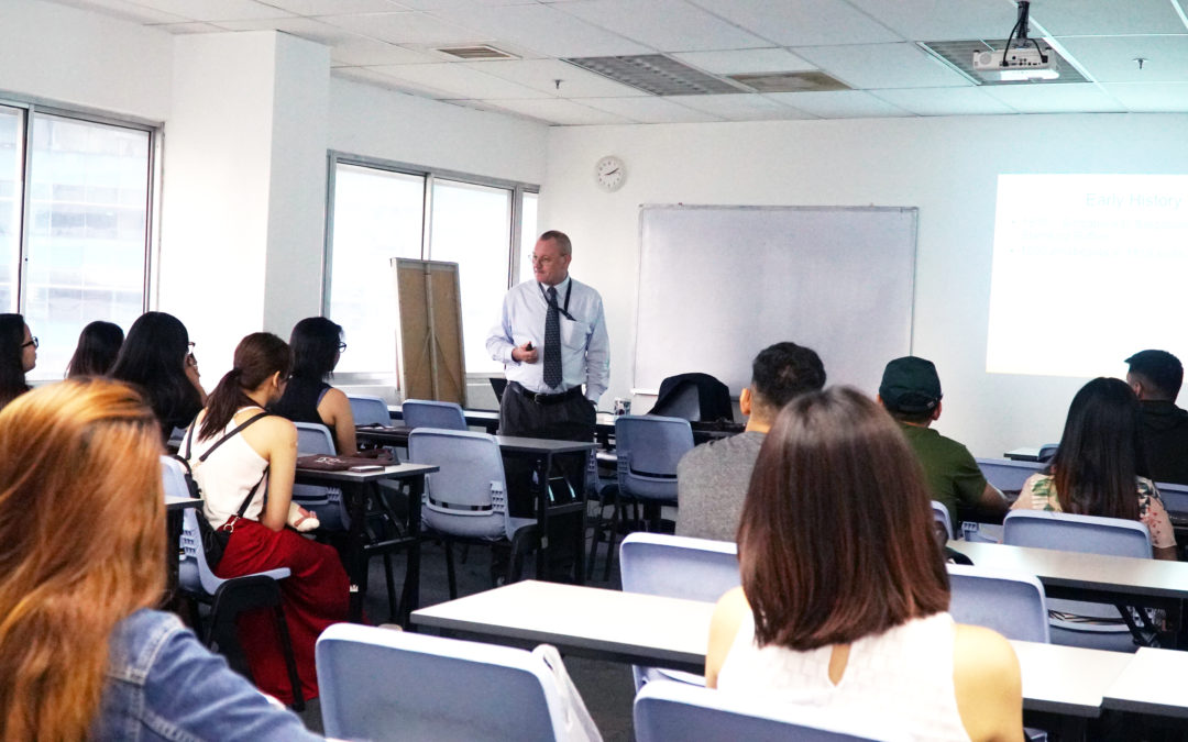 School Visit by Global City Innovative College, Manila