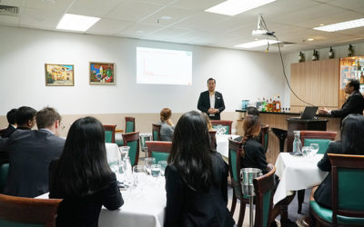 Diageo Bar Academy Lecture For Vatel Students