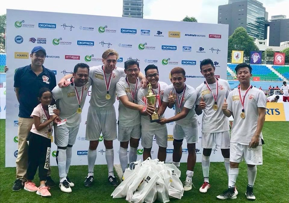 Champions of Singapore United Football Fiesta (Corporate Category) 2018