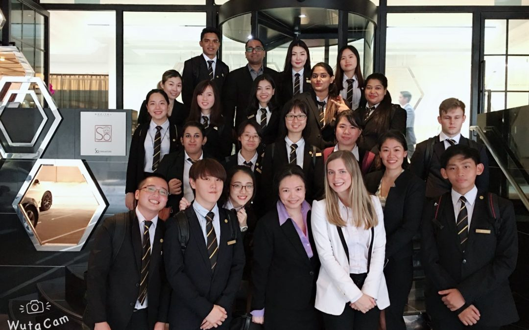 SO Sofitel Hotel Tour for ADHTM Students
