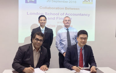 MOA Signing between SDH Institute and LSAF Indonesia