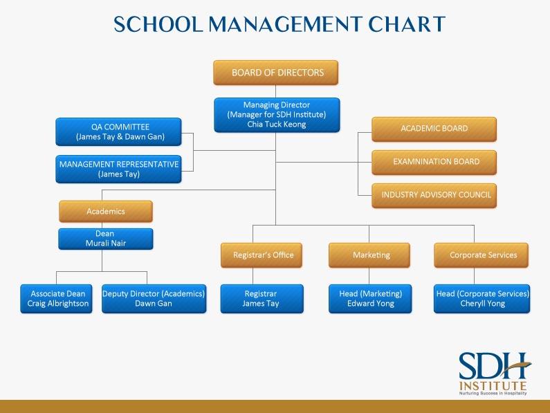 SDH Organisation Chart