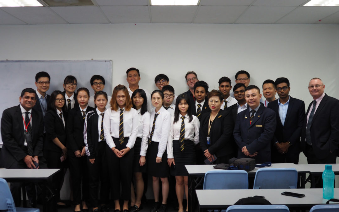 Guest Lecturer: Mr Edmund Ong – General Manager, International Business Singapore at Trip.com