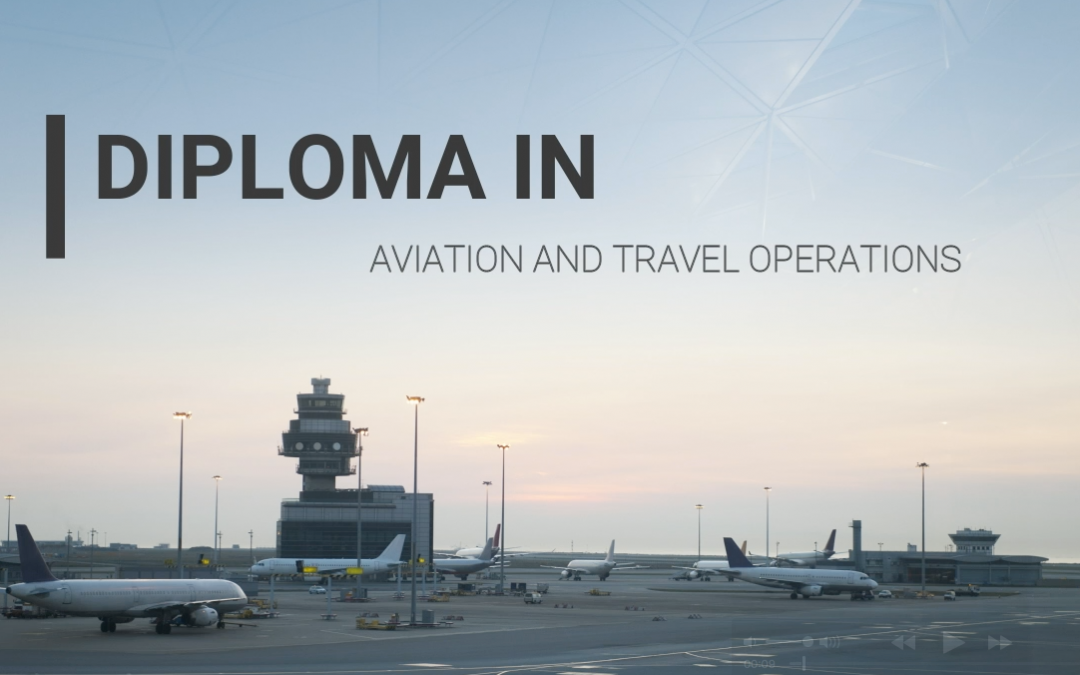 Why study Aviation and Travel Operations with SDH Institute?