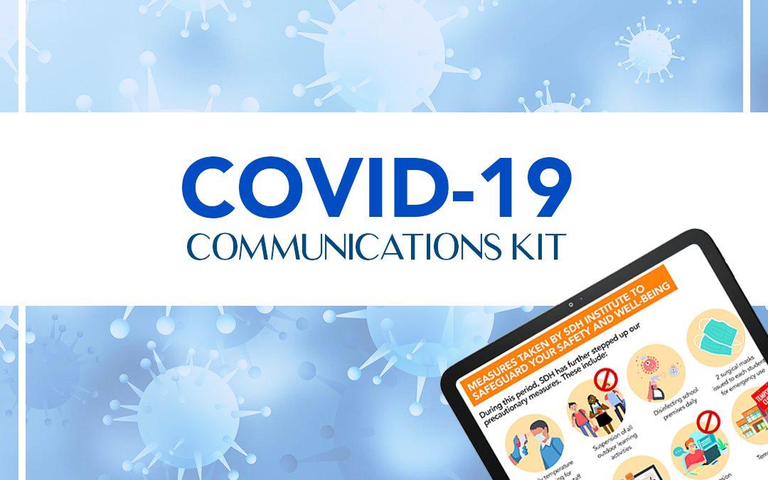 COVID-19 COMMUNICATIONS KIT