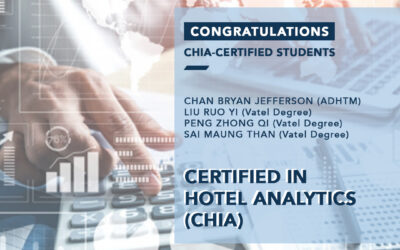 Congratulations to the newly CHIA-certified students!