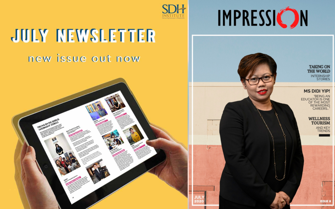July edition of IMPRESSION out now!