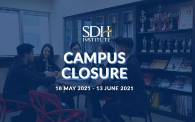 [CAMPUS CLOSURE FROM 18 MAY – 13 JUNE 2021]