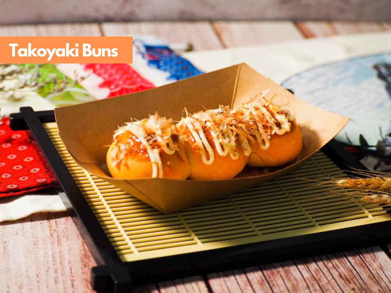 Japanese Bread_Takoyaki Buns